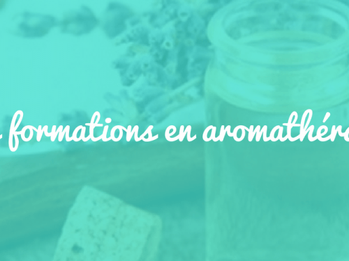 Acompte Formation Stage Aromatherapie