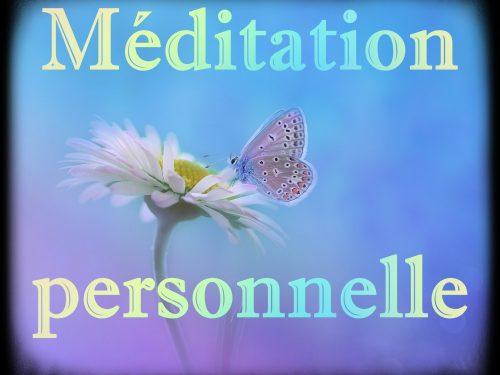 Méditation personnalisée